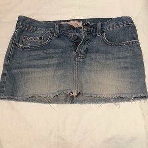 Abercrombie & Fitch Skirts - Abercrombie & Fitch Denim Mini Skirt